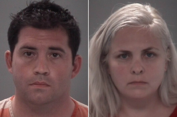 Naked-jogging Alabama couple arrested after leaving 1 year
